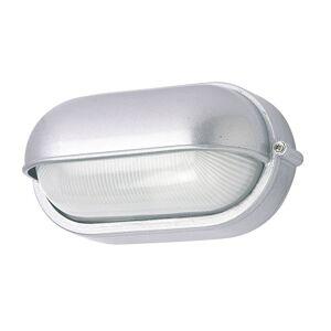 G & L HANDELS GMBH Venkovní nástěnné světlo 400180 oválné, stříbrné