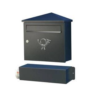 Heibi Poštovní schránka Lucio černá