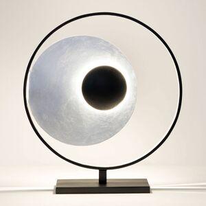 J. Holländer Stolní lampa Satellite, stříbro-černá, výška 58cm