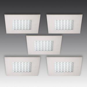 HERA Q 68 LED podhledové svítidlo, 5dílná sada