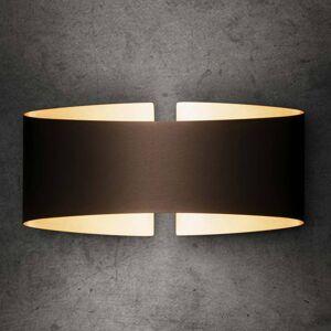 Holtkötter Holtkötter Voilà LED nástěnné světlo, fumé mat