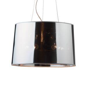 Ideallux Závěsné světlo London Cromo, nastavitelná výška