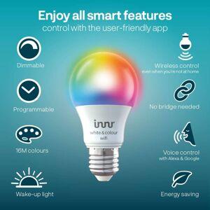 Innr Lighting Innr LED žárovka WiFi E27 9,5W 806lm RGBW 2ks