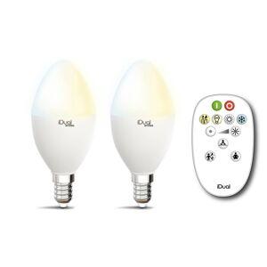 iDual iDual Whites Lampe E14 P45 5,5W 2ks, ovladač