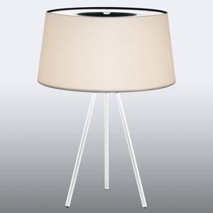 Kundalini Kundalini Tripod stolní lampa krém/základna bílá