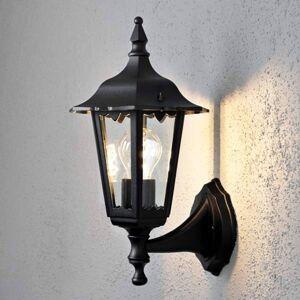 Konstmide Venkovní světlo Firenze, horní, 36cm, černé