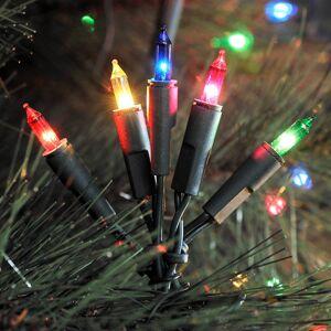 Konstmide CHRISTMAS Pestrý LED světelný řetěz, 10 žárovek 2,85m