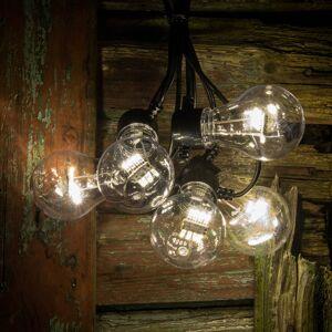 Konstmide CHRISTMAS LED světelný řetěz žhavicího vlákno teplá bílá 5x