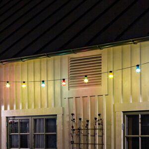 Konstmide CHRISTMAS Světelný řetěz Biergarten 10 barevných LED žárovek