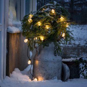 Konstmide CHRISTMAS Světelný řetěz Biergarten 40 kapek čirá jantar