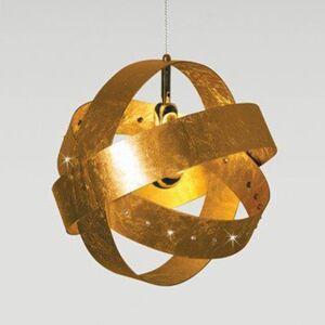 Knikerboker Knikerboker Ecliptika zlacené závěsné světlo 40cm