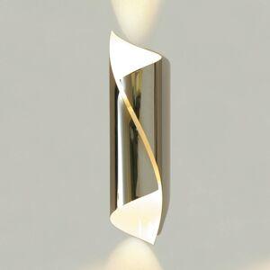 Knikerboker Knikerboker Hué nástěnné světlo 37 cm chrom, bílé