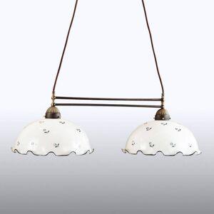 AUSTROLUX BY KOLARZ KOLARZ Nonna - trámové závěsné světlo bílá-modrá