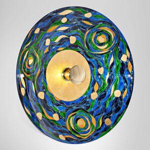 KOLARZ KOLARZ Aqua - modro-zelené nástěnné světlo