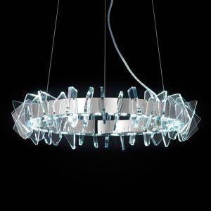 PATRIZIA VOLPATO Kruhové závěsné světlo LED EOS se sklem