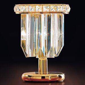 PATRIZIA VOLPATO Stolní lampa Cristalli 24 karátů ve zlaté