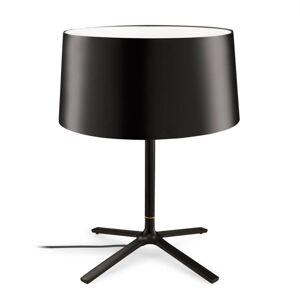GROK Grok Hall stolní lampa s látkovým stínidlem, černá