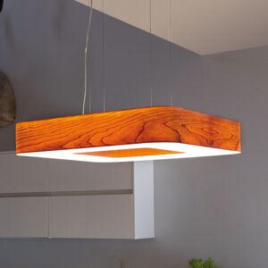 LZF LamPS LZF Cuad LED závěsné světlo 0-10V stmívač, třešeň