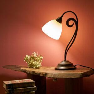 Lam Stolní lampa Luca ve venkovském vzhledu