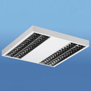 Lenneper Lak - LED stropní světlo s rastrem Darklight
