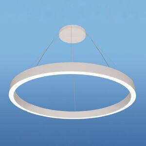 Lenneper LED závěsné světlo IRIS08-ID, Ø 80 cm, bílá, 4000K