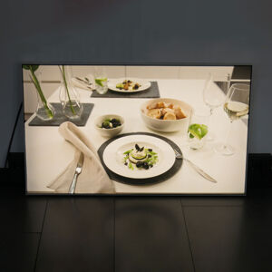 Lenneper LED nástěnné světlo LGA 2x2 moduly, 62,5 x 62,5 cm