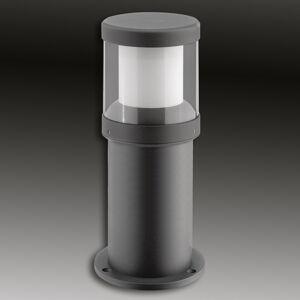 LCD LED soklové světlo Levent grafit