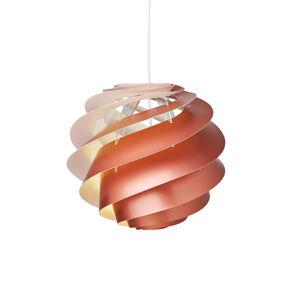 LE KLINT LE KLINT Swirl 3 Small - závěsné světlo v mědi
