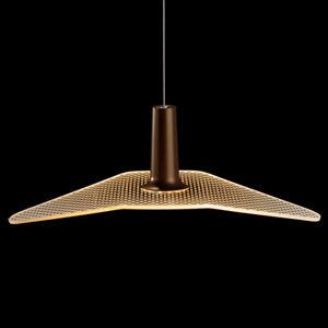 LDM LDM Wyng Dot LED závěsné světlo, bronz