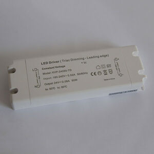 LED Profilelement GmbH Napájecí zdroj TRIAC stmívatelný IP20 LED 50 W