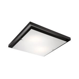 EULUNA Stropní světlo Kerio, 35 x 35 cm, wenge