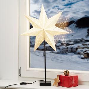 Markslöjd Stojací hvězda Solvalla, výška 69 cm, zlatá