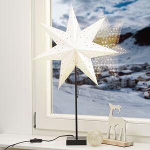 Markslöjd Stojací hvězda Solvalla, výška 69 cm, stříbrná