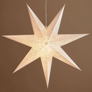 Markslöjd Dekorativní hvězda Olivia v bílé barvě