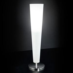 Mettallux Stolní lampa zlatá Fire 1 zdroj bílá