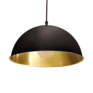 Moretti LUCE Závěsné světlo Circle zlatá / mosaz, Ø25cm
