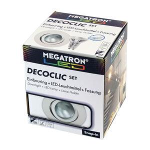 MEGATRON LED spot Decoclic Set GU10 4,5 W, bílá