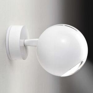 Milan Milan Bo-La nástěnné světlo, kulatý držák, bílé