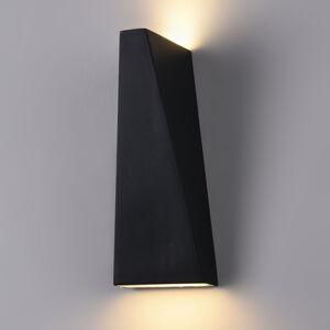 Maytoni Venkovní nástěnné světlo LED Times Square černé