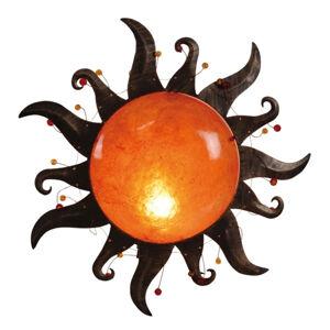 Näve Nástěnné světlo Sania ve tvaru slunce