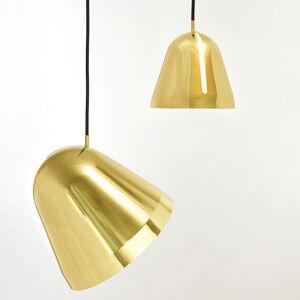 NYTA Nyta Tilt Brass závěsné světlo, textilní kabel 3 m