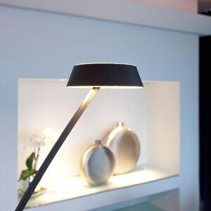 OLIGO OLIGO Glance LED stojací lampa oblouk, černá matná