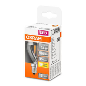 OSRAM OSRAM Classic P Mirror LED žárovka E14 4W 2 700 K