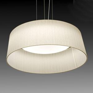 Pamalux Závěsné světlo Ganzo, bílé, Ø 60cm