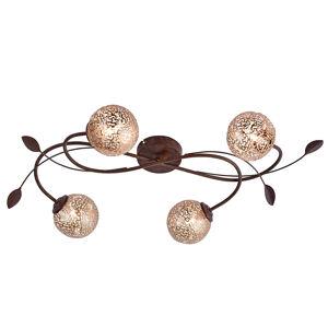 Paul Neuhaus Čtyřramenné světlo Greta vkvětinovém designu