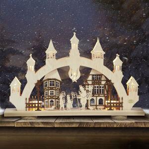 Saico Světelný oblouk Staré město 3D, 10 zdrojů