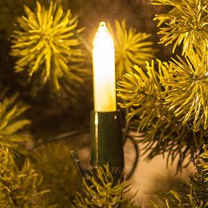Saico Světelný řetěz s malými svíčkami, bílé, 20 zdrojů