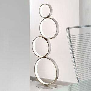Sompex Stojací lampa LED Loop z kovu