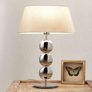 Villeroy & Boch Villeroy & Boch Sofia stolní lampa, noha stříbrná