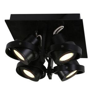 Steinhauer BV LED stropní bodové osvětlení Westpoint 4zdr černé